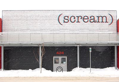 scream billboard