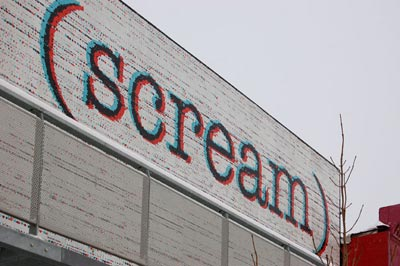 scream billboard